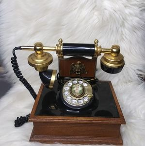 Vintage corded Rotary house telephone